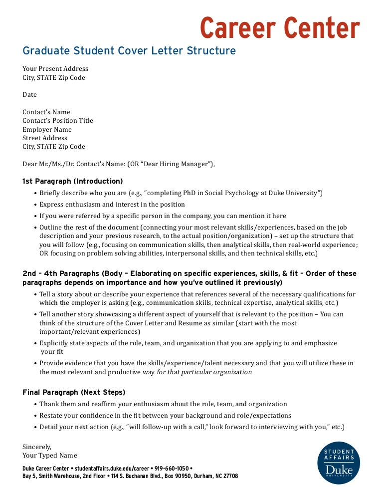 Graduate student cover letter structure for Explore learning cover letter