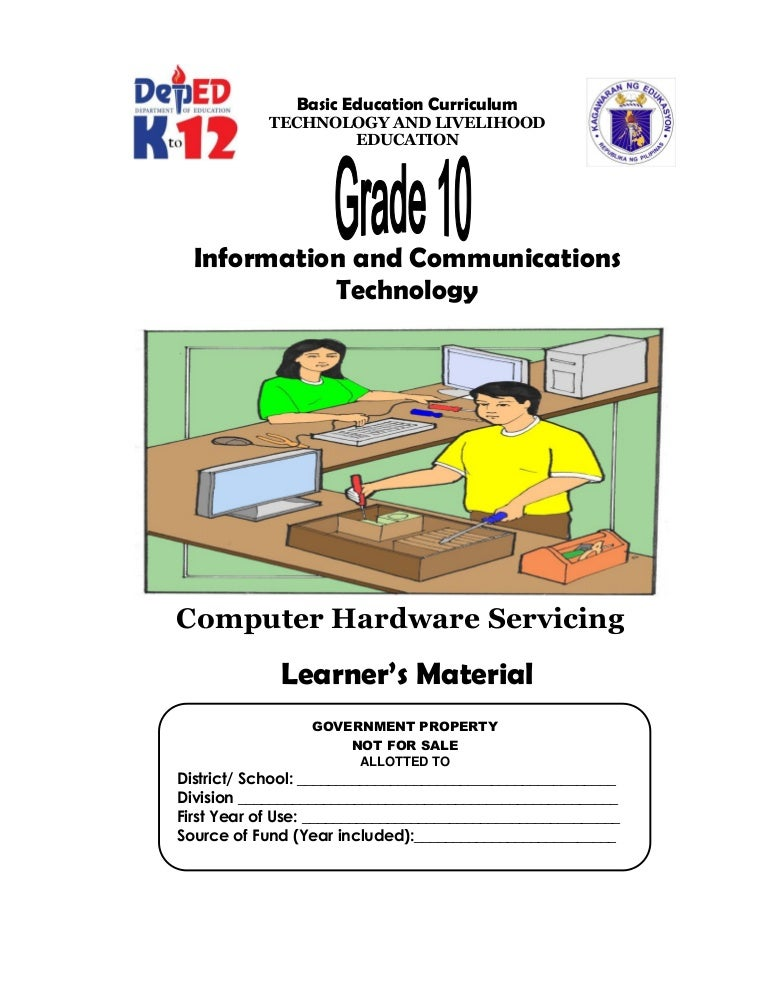 K-12 Module in TLE - ICT Grade 10 [All Gradings]