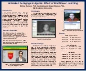 Animated Pedagogical Agents: Effect of Emotion on Learning