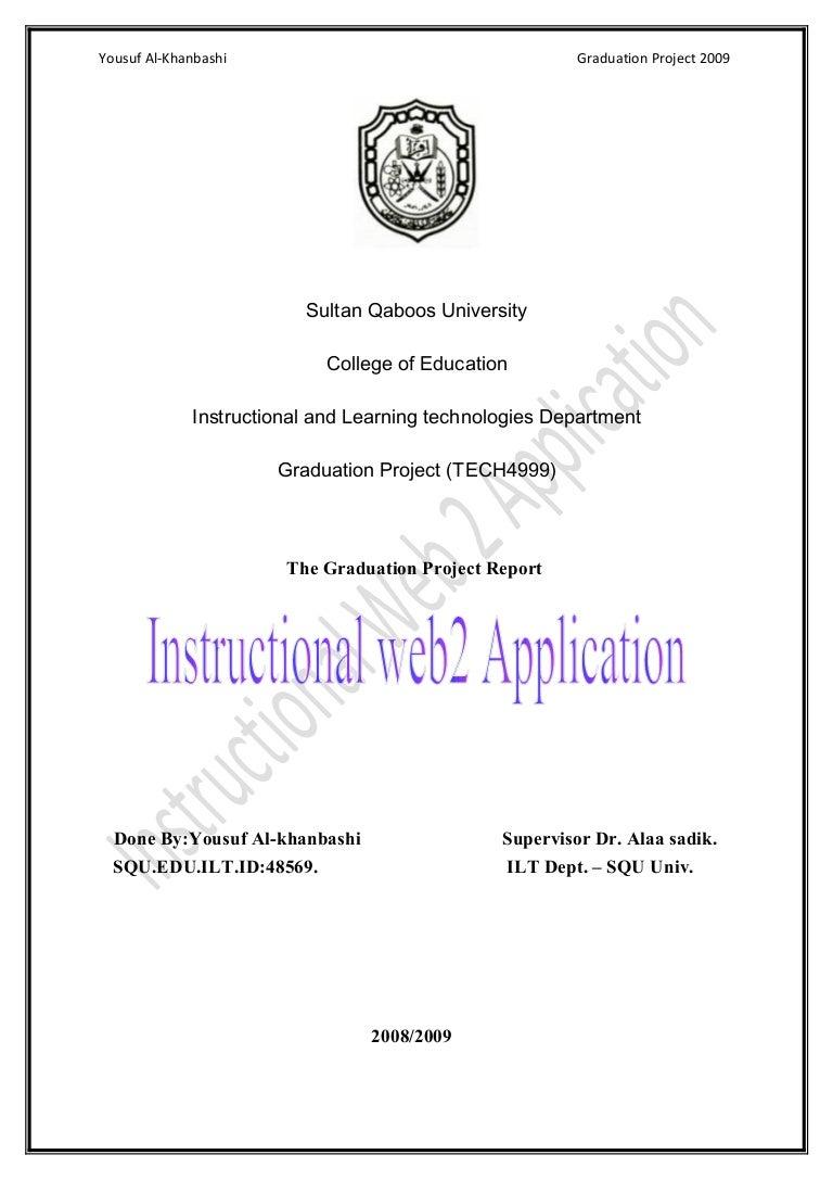 graduation project examples