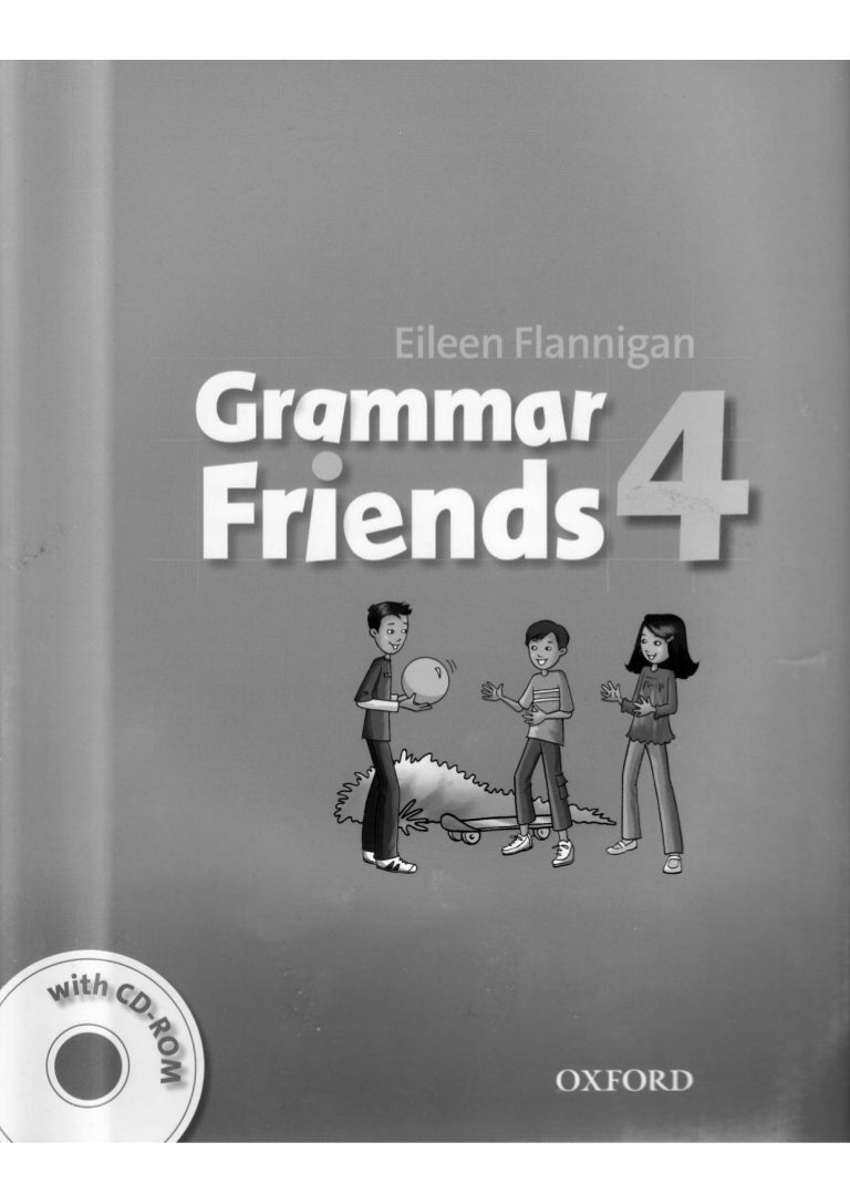 Grammar friends-4-student-s-book grey