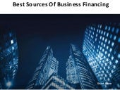 Grant M Barra - Best Sources of Business Financing