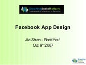 Graphic Social - Application Design
