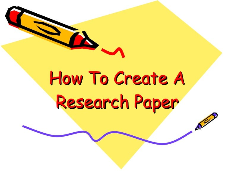 how to create a research paper How do i write a scientific review research paper originally appeared on quora: the place to gain and share knowledge, empowering people to learn from others and better understand the world.
