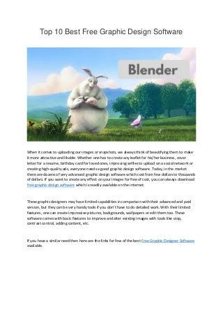 graphic design software linkedin