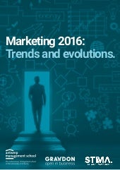 Last marketing trends in 2016- STIMA Belgium