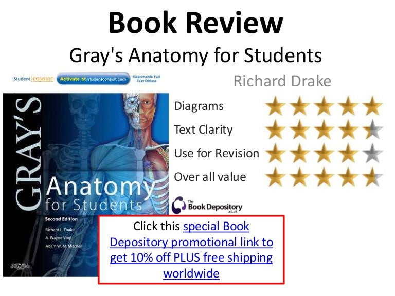 Grays Anatomy For Students Book Review