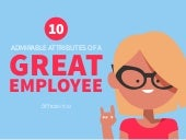10 Traits Of A Great Employee