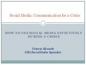 How to Use Social Media Effectively During A Crisis