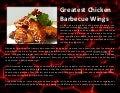 Greatest chicken barbecue wings
