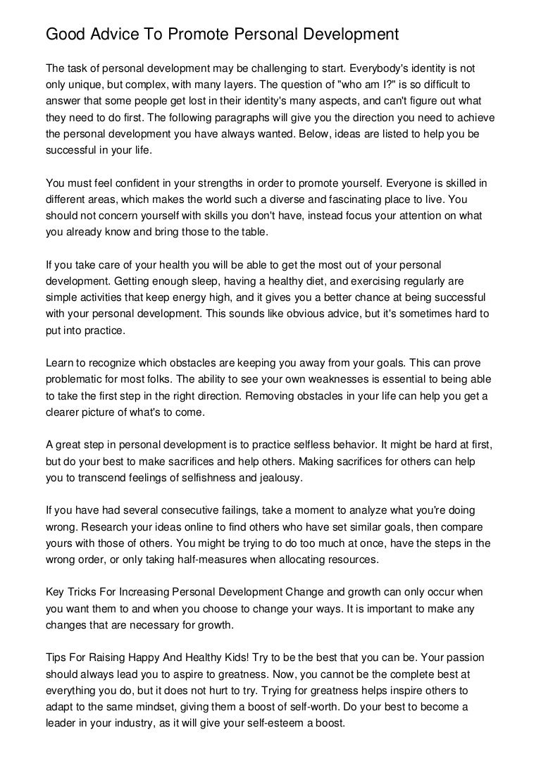 greattipstofacilitateamazingpersonaldevelopment phpapp thumbnail jpg cb