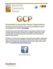 Greenfield Community School - Community Parent Organization