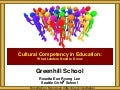 Greenhill Cultural Competency Leadership