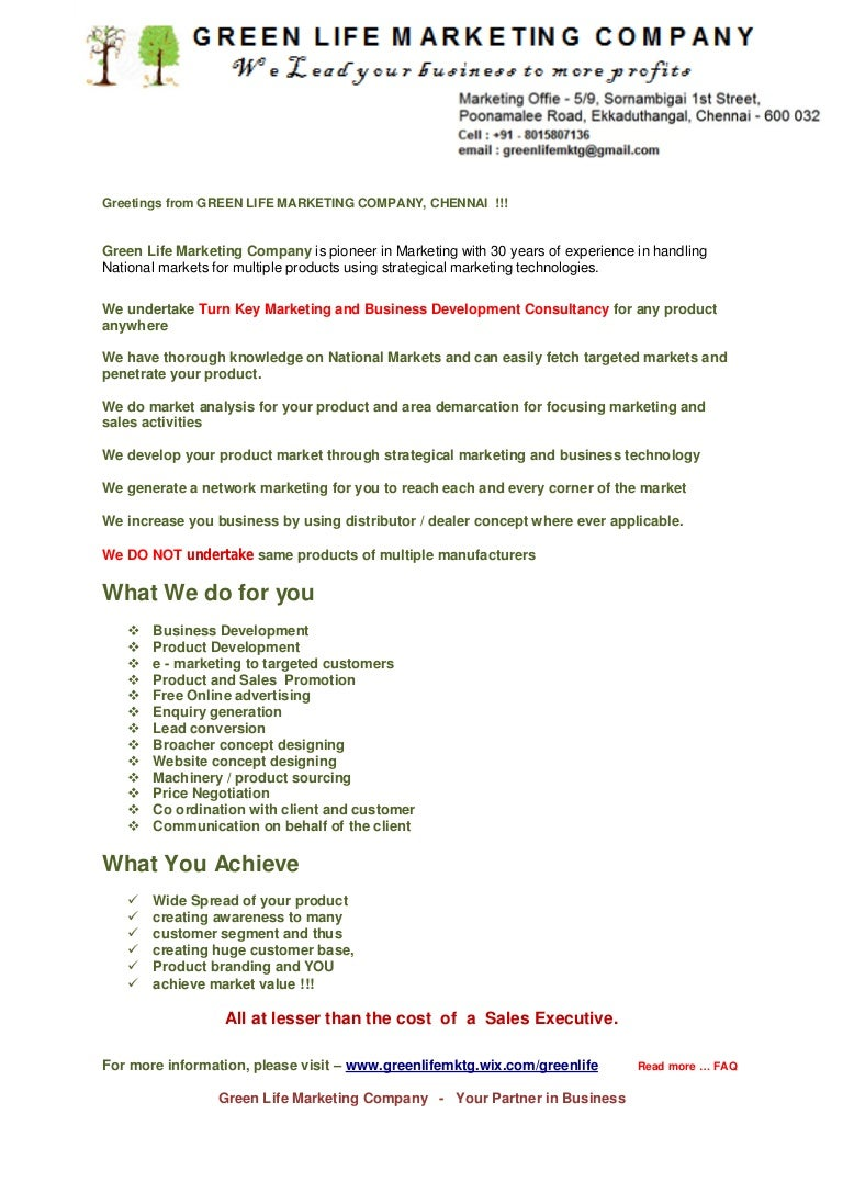Green life marketing introduction kristyandbryce Image collections