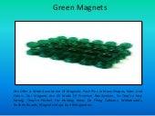 Excellent Green Magnets Supplier in Carolina   Map Magnets Online