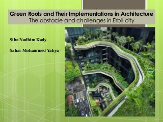 Green roofs and their implementations