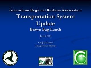 Greensboro regional realtors assoc 06 08-10