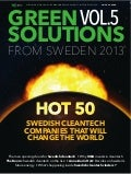 Green solutions from Sweden magazine vol.5 2013