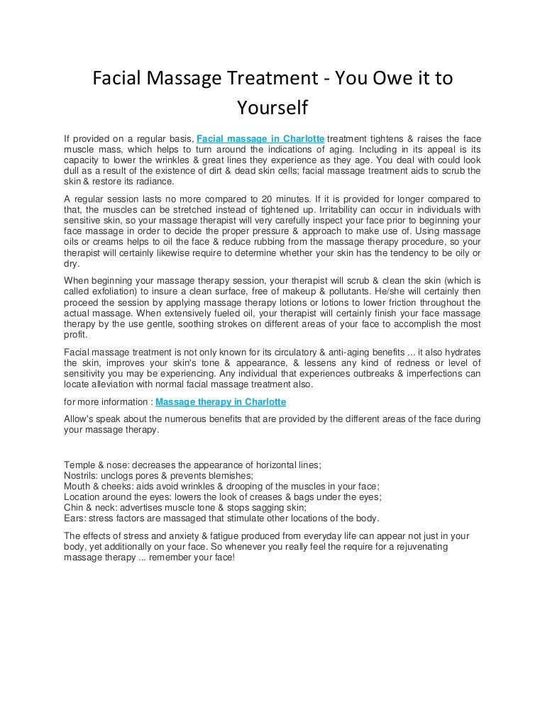 Charlotte Massage Therapy | Asian Massage | Green Spring