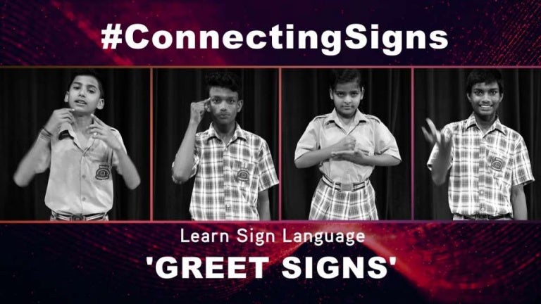 How to greet someone using sign language m4hsunfo