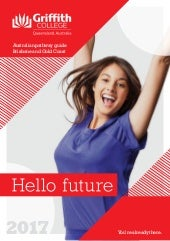 Griffith college aust student guide 2017 web
