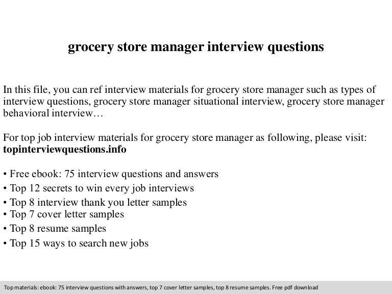 Manheim PA Resume Examples  Grocery Store Resume