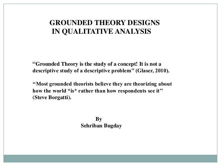 Phases of grounded theory ATLAS ti