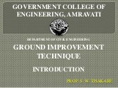 Ground imrovement   introduction
