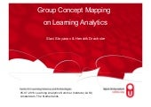 Group Concept Mapping on Learning Analytics