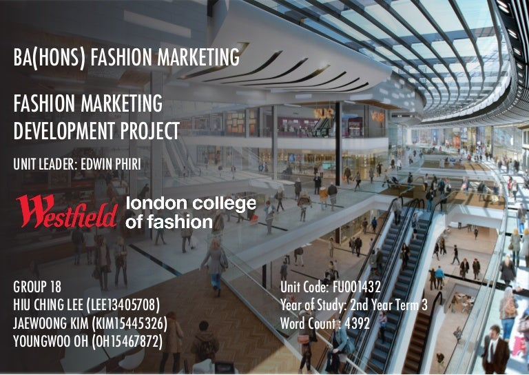 Westfield Innovative Business Retail Proposal