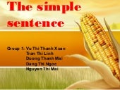 The Simple Sentence