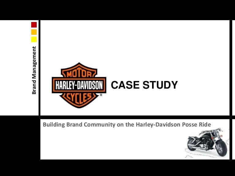 100 Original Papers Case Study Analysis Harley Davidson