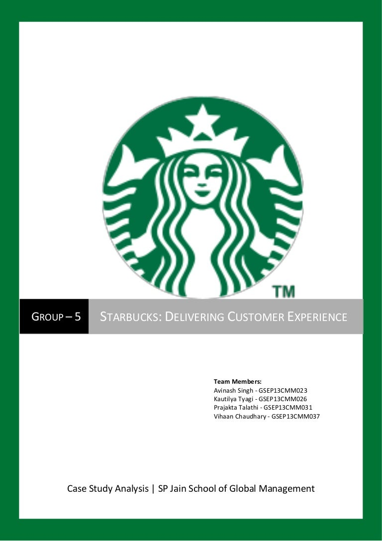 starbucks delivering customer experience