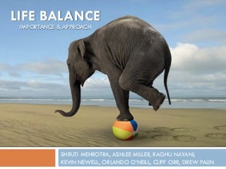 Life Balance: Importance and Approach