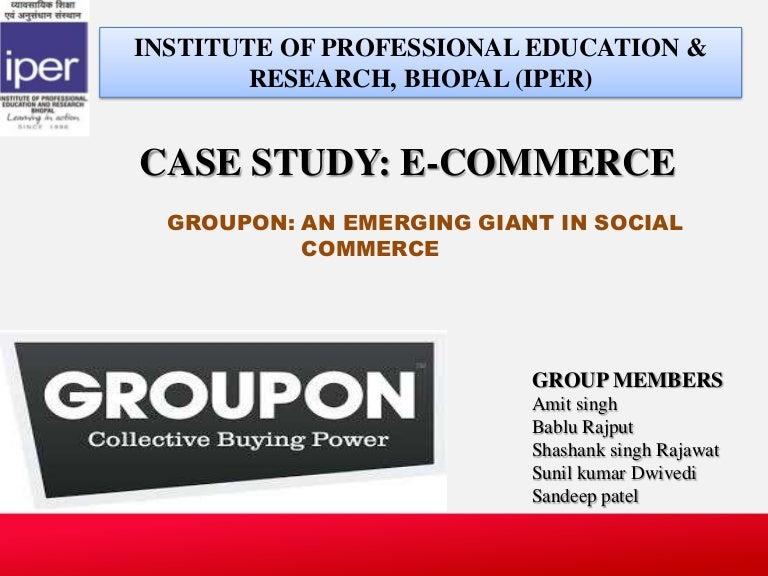 Harvard case study groupon