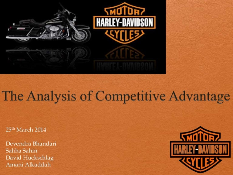 harley davidson casestudy The harley-davidson motorcycle is quintessentially american it embodies rugged individualism, an outlaw spirit, and noise-polluting machismo to hear a hog's signature snarl before catching its blinding chrome in the rearview mirror is to be reminded of america's odd fondness for causeless rebels and.