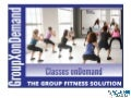 "Group X ""onDemand"" Fitness Class System"
