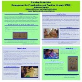 Growing Scientists: Community Engagement for Preschoolers and Families through STEM