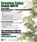 Growing Sales Workshop, Bristol, April 20, 2011
