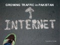 Growing traffic in pakistan