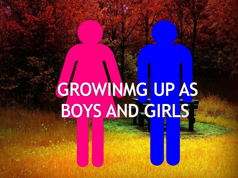 Growing Up As Boys And Girls-7343