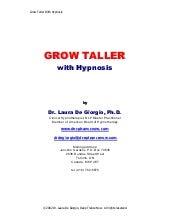 Grow taller with hypnosis dr milton erickson