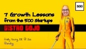 Growth lessons from the 500 Startups Distro Dojo