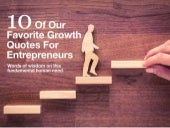 10 of our favorite growth quotes for entrepreneurs