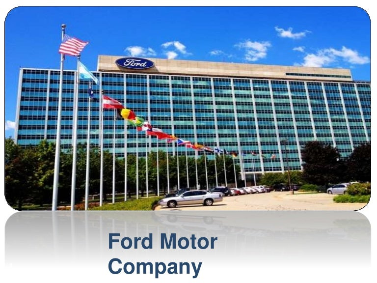 ford motor company research paper Ford motor company has provided information about their environmental initiatives and studies associ  research, the heritage project(elkington, d 2000), and environmental achievements have projected ford motor company to the forefront of leading company to become environmentally.
