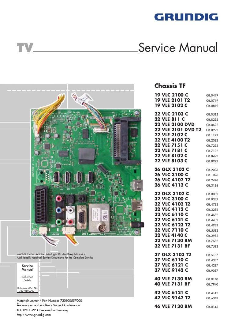 grundig tv manual download