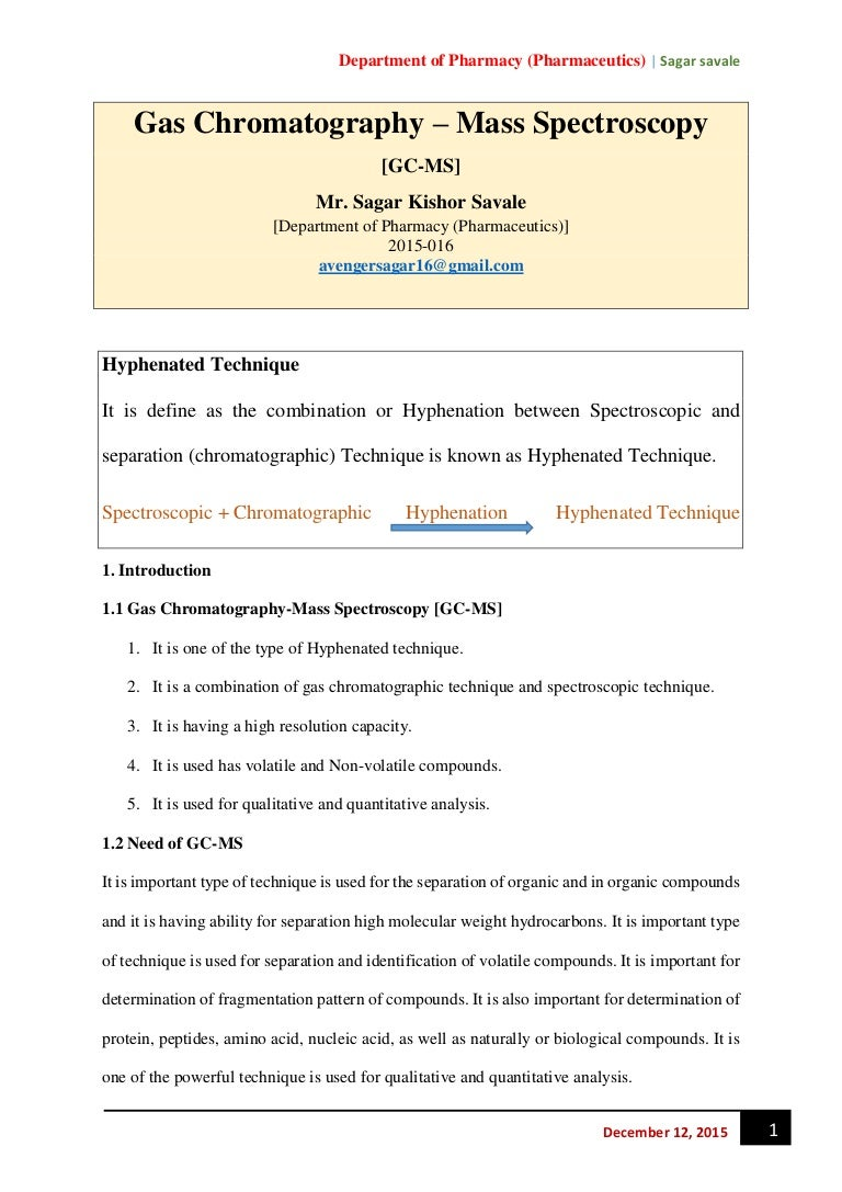 Chromatographic methods of analysis: advantages and disadvantages 71