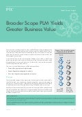 Broader Scope PLM Yields Greater Business Value