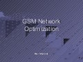 Gsm optimization