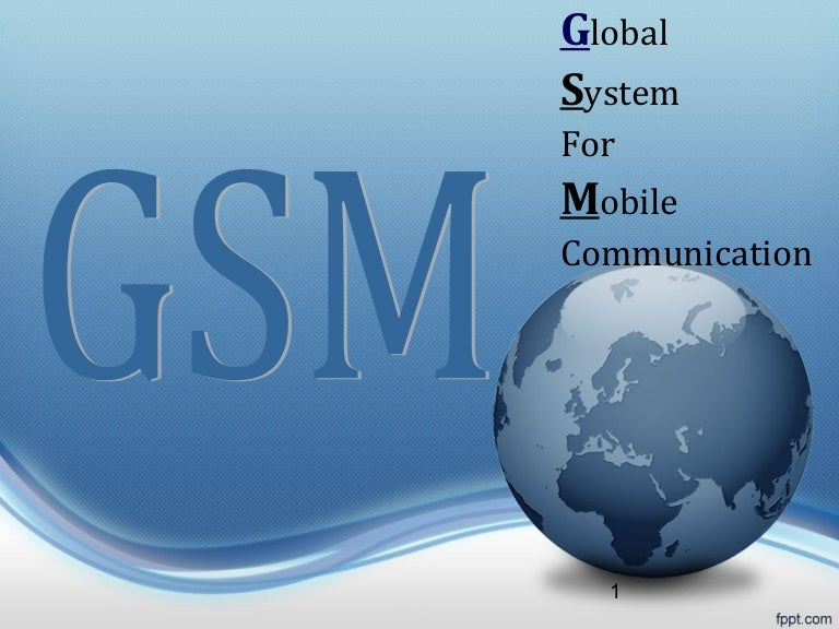 Gsm network.